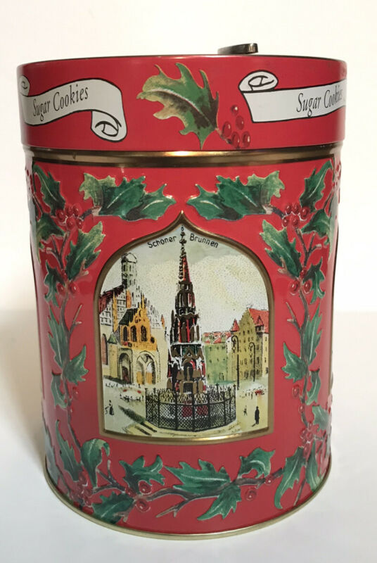 Lambertz Aachen collectible musical tin