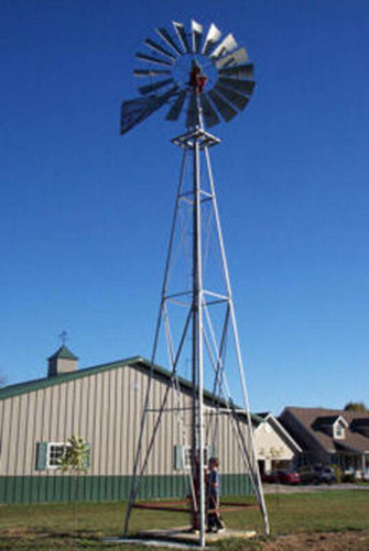 8ft A-702 Windmill with 21ft Tower, all new