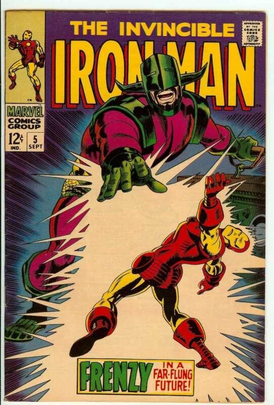 IRON MAN #5 6.5