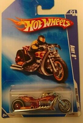 2009 Hot Wheels ~ Airy 8 ~ Rebel Rides