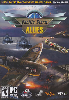 PACIFIC STORM ALLIES Naval Combat Strategy PC Game NEW! ()