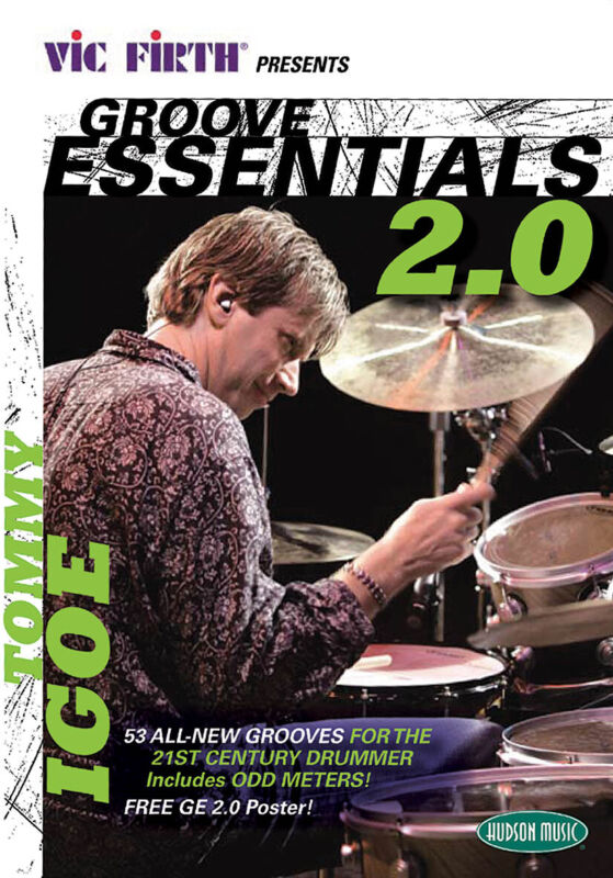 Groove Essentials 2.0 with Tommy Igoe Drum Lessons Learn to Play Video DVD