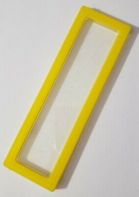 """BARBIE DOLL FURNITURE DREAM HOUSE 1978 REPLACEMENT 5.5"""" YELLOW WINDOW VINTAGE"""