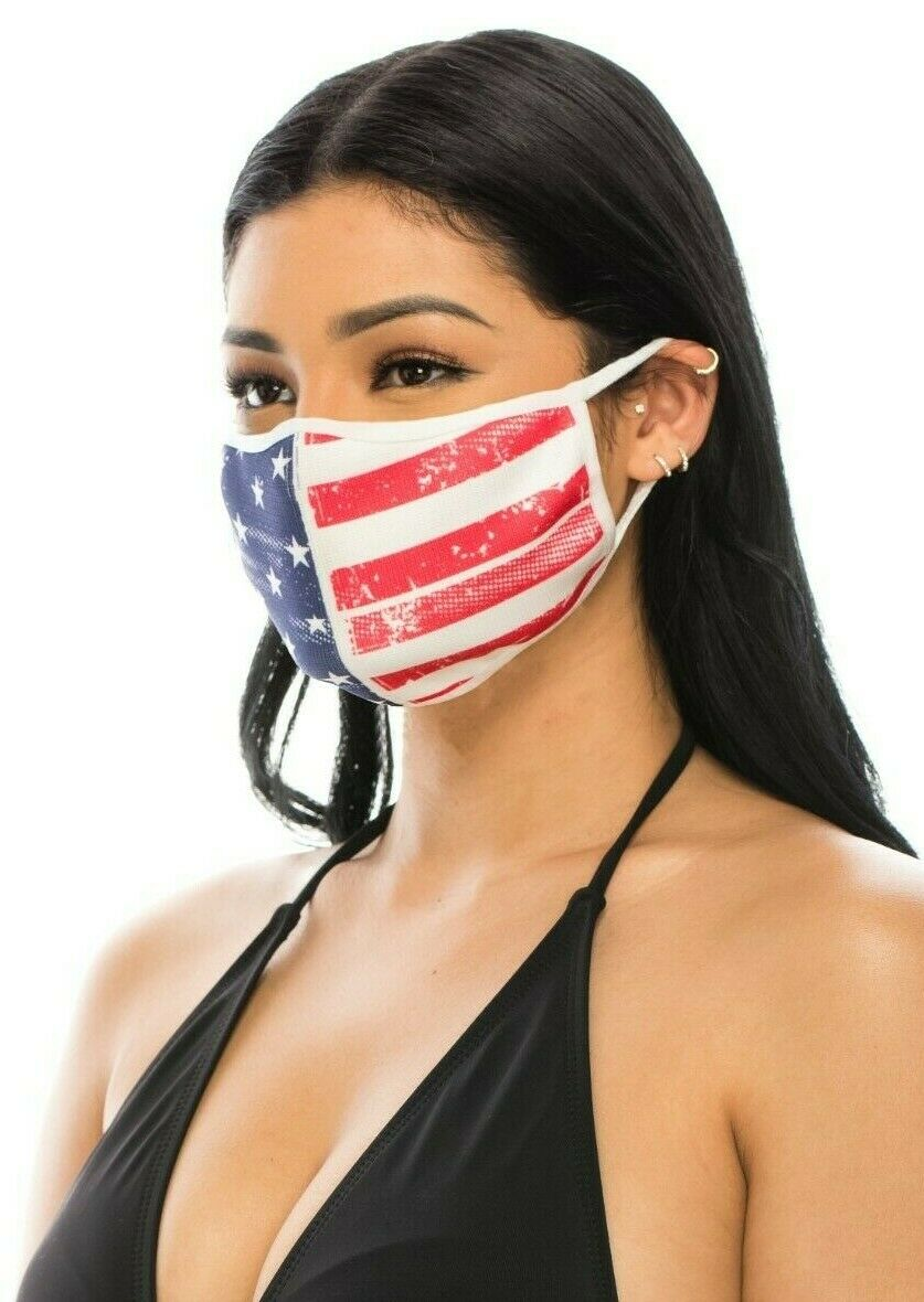 Washable & Reusable Face Mask, Made in USA Accessories