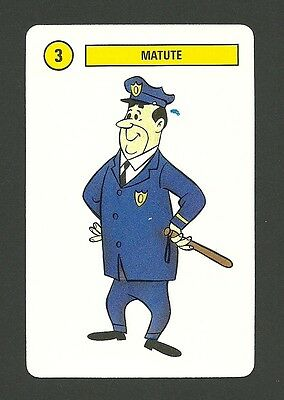Top Cat 1991 Hanna Barbera Cartoon Card from Spain C Policeman