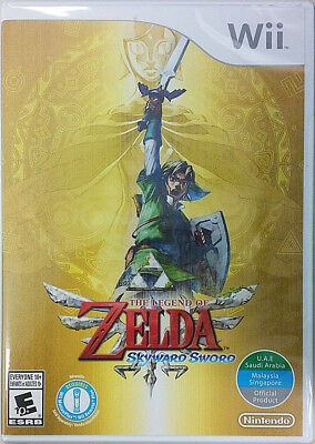 The Legend Of Zelda  Skyward Sword World Edition  Nintendo Wii  2011
