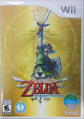 The Legend Of Zelda  Skyward Sword   Nintendo Wii  Brand New Sealed
