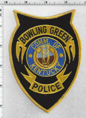 Bowling Green Police (Kentucky) 3rd Issue Shoulder Patch