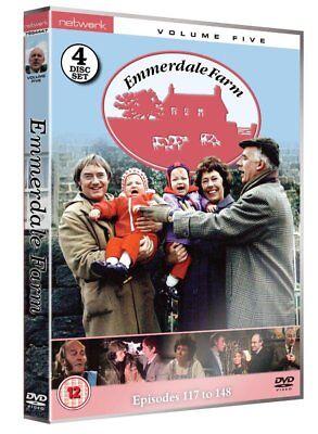 (EMMERDALE FARM volume 5 Vol. five. Four discs. Brand new sealed DVD.)