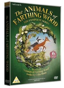 THE ANIMALS OF FARTHING WOOD the complete series. New sealed DVD.