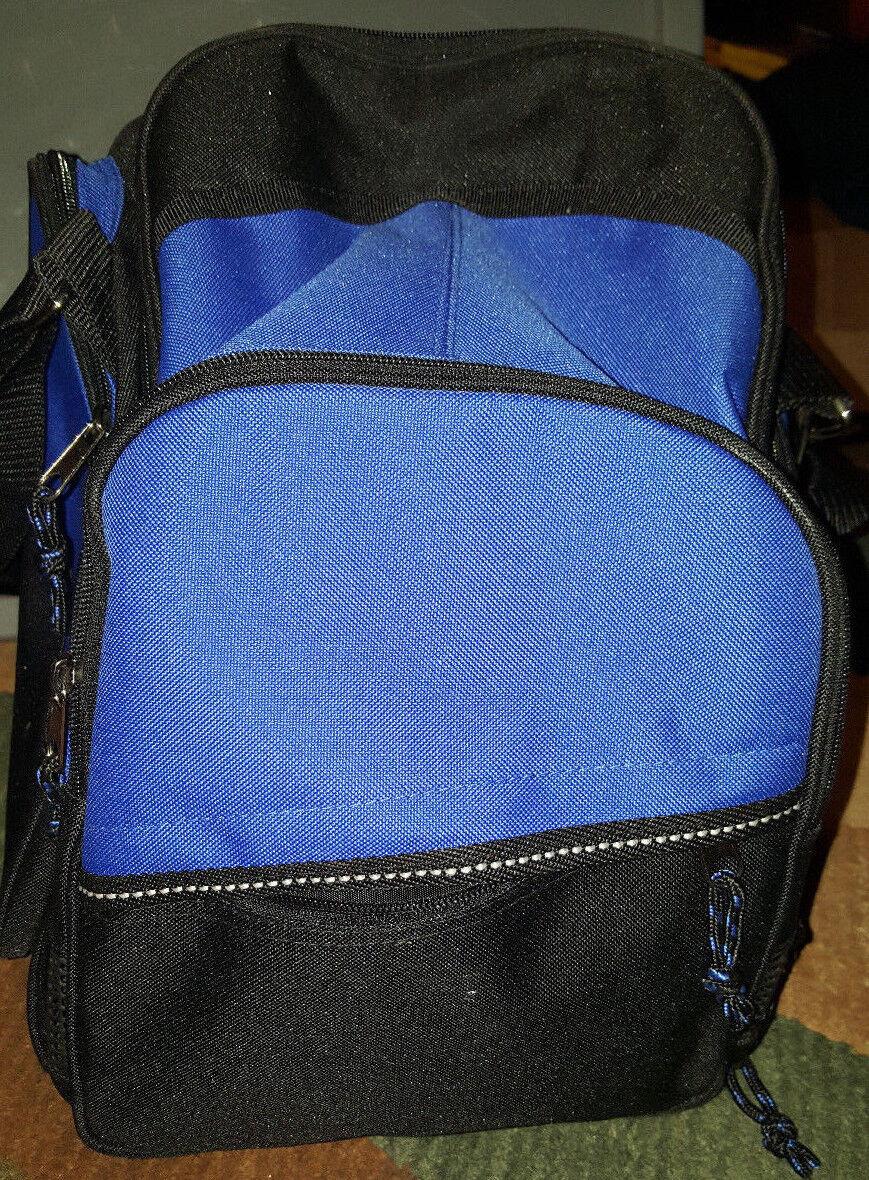 Blue/black Athletech Single Ball Bowling Bag