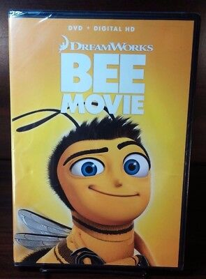 Shipping Code (Dreamwork's Bee Movie 2007(DVD) Disc not Used-No Digital Code-Free)