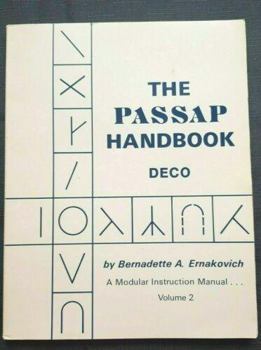 BK400 PASSAP KNITTING MACHINE BOOK HANDBOOK BY BERNADETTE ERNAKOVICH VOLUME 2