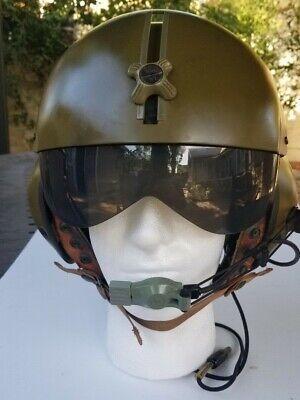 Vietnam US Military Gentex Helicopter Helmet Flight Helmet with Visor