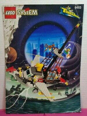 "Lego Time Cruisers ""FLYING TIME VESSEL"" #6493 - USED 234 PCS /1996 / RARE!"