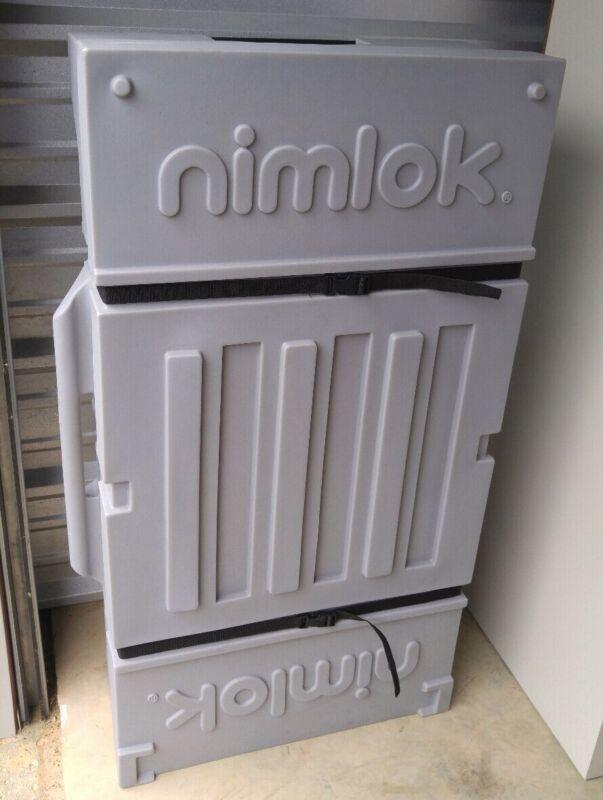 NIMLOK TABLETOP DISPLAY PANELS W/ CASE