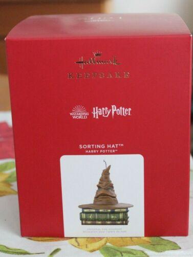 Hallmark Keepsake 2021 Wizarding World Harry Potter SORTING HAT Ornament Magic