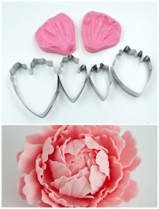 Peony Cutter and Veiner Set
