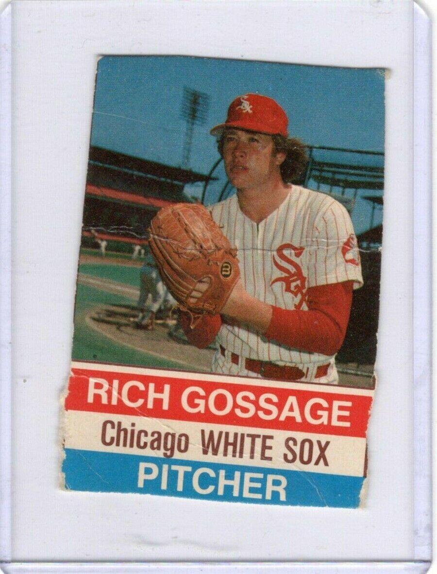 Rich GOOSE Gossage 1976 Hostess 77 Chicago White Sox HOF - $0.10