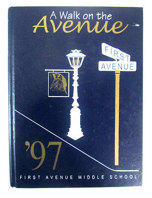 1997 Yearbook First Avenue Middle School Arcadia California A Walk On The Avenue