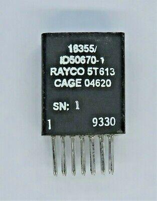 Rayco 1d50670-1 Nsn 5950-01-181-5973 Cage 04620 Power Transformer 14-pin