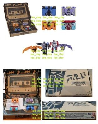 Transformers SELECTS Micromaster Elite Soundwave Spy Patrol Team 3rd Unit 4pk