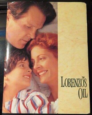 Lorenzo's Oil Susan Sarandon Nick Nolte 1993 Movie Press Release / Photos for sale  San Diego