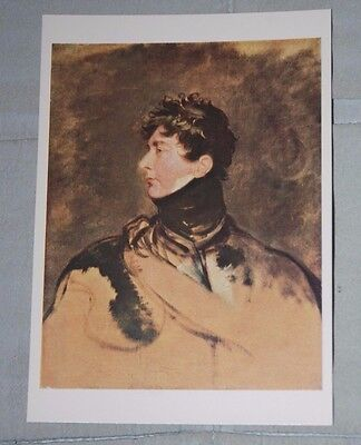 Postcard - King George IV - Thomas Lawrence, National Portrait Gallery