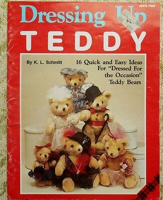 Dressing Up Teddy 16 Quick & Easy Ideas for Dressing Up Bears Plaid #8476](Ideas For Dressing Up)