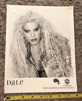"""1988 Dale 8""""x10"""" Publicity photo Warner Brother records"""