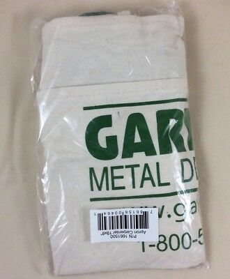 New Carpenter Apron Pouch Garrett Metal Detector Advertisement