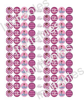 Doc Mc Stuffin Personalized Candy labels - 108 labels 3/4