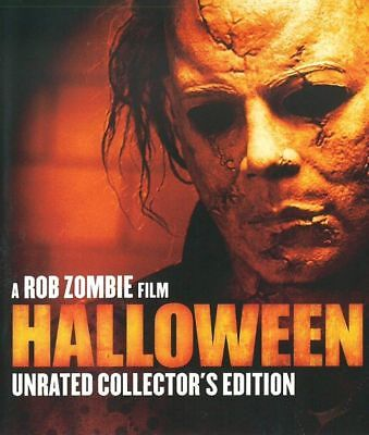 Rob Zombie Halloween Unrated Collectors Edition Blu-ray BRAND NEW Michael Myers - Rob Zombie New Halloween Movie