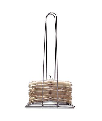 New Chrome Hanger Stacker Organizer Storage Rack Stacker Holds 50 - -