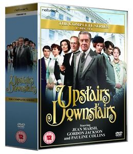 UPSTAIRS DOWNSTAIRS- The Complete Series,17-Disc Set, Box Set   New   Fast  Post