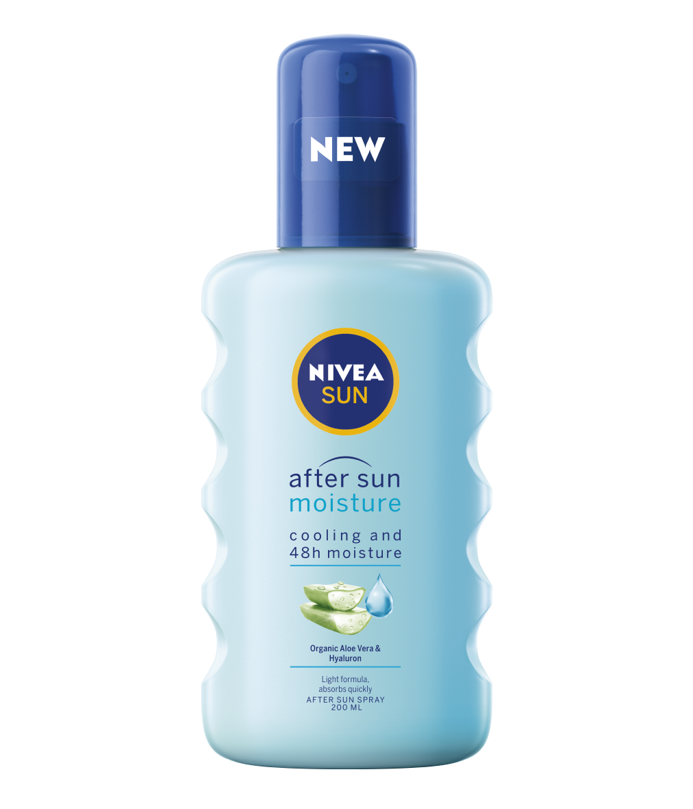 Nivea After Sun Lotion Moisture Spray With Aloe Vera Avocado Oil Hydrates 200ml Ebay