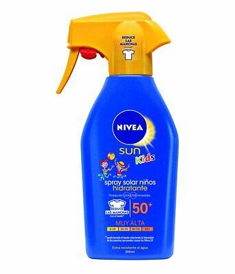 NIVEA Sun Kids - Spray solar niños hidratante FP50+ - Protección UV...