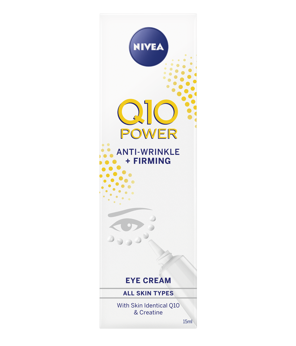 Nivea Q10 Power Eye Cream, Anti-Wrinkle, Anti-Ageing Eye Cream 15ml