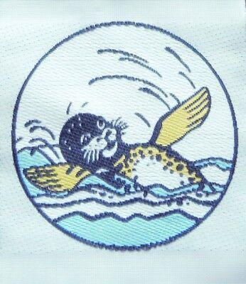 Schwimmabzeichen Seehund Trixi Aufnäher
