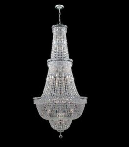Beautiful large crystal Chandalier