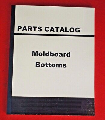 Ih International Harvester Farmall Moldboard Plow Bottoms Shares Parts Manual