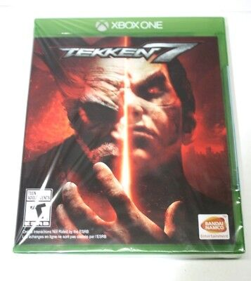 Tekken 7 (Microsoft Xbox One, 2017) Brand New Sealed