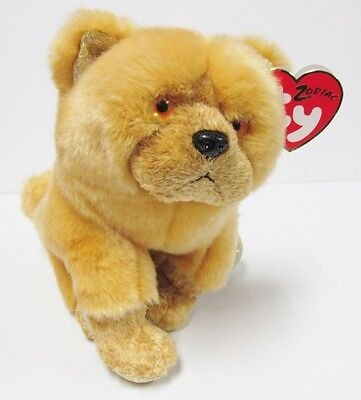 "Ty Beanie Baby - Zodiac Series, ""DOG"" PRISTINE CLEAN & Brand New w/Mint Tags"