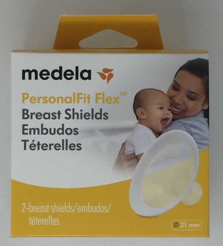 Medela Breast Shields PersonalFit Flex 21mm Pack includes 2 Breastshields