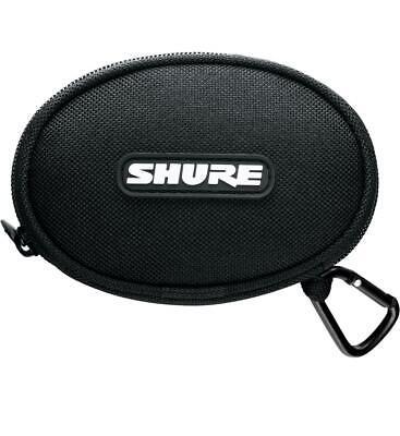 Genuine Shure EASCASE SE Round Earphone Case for E4c and E5c Earphones - -