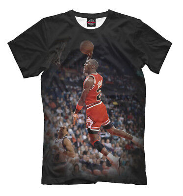 - Michael Jordan tee - Slam dunk Throw in the basket  MJ basketball player t-shirt