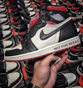 """75b29acbe5a Air Jordan 1 """"Not For Resale"""" Size (7-13) READ DESCRIPTION"""