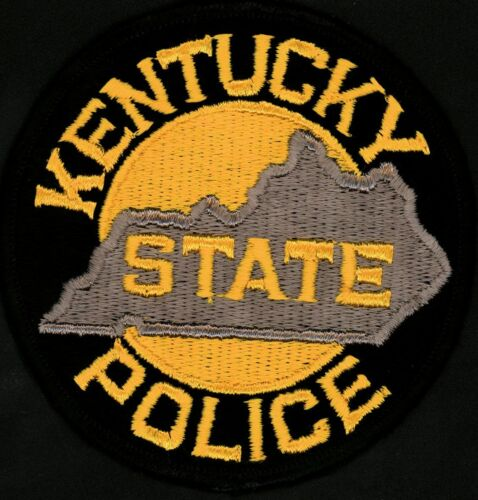 Vintage KENTUCKY STATE POLICE (4 INCH) Police Patch