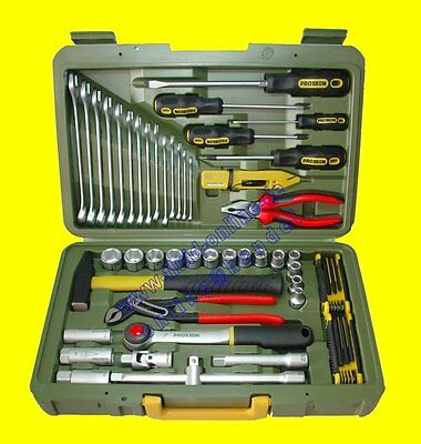 PROXXON 23650 Werkzeugkoffer 47teilig PkW Heim Hobby Werkstatt Haushalt Boot NEU
