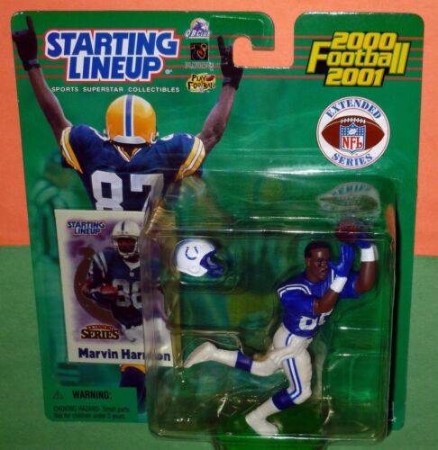 Indianapolis Colts Series 1 3 inch L#166 Marvin Harrison McFarlane